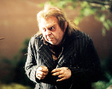 Timothy Spall in Harry Potter