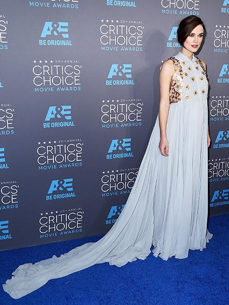 Keira Knightley Critics Choice