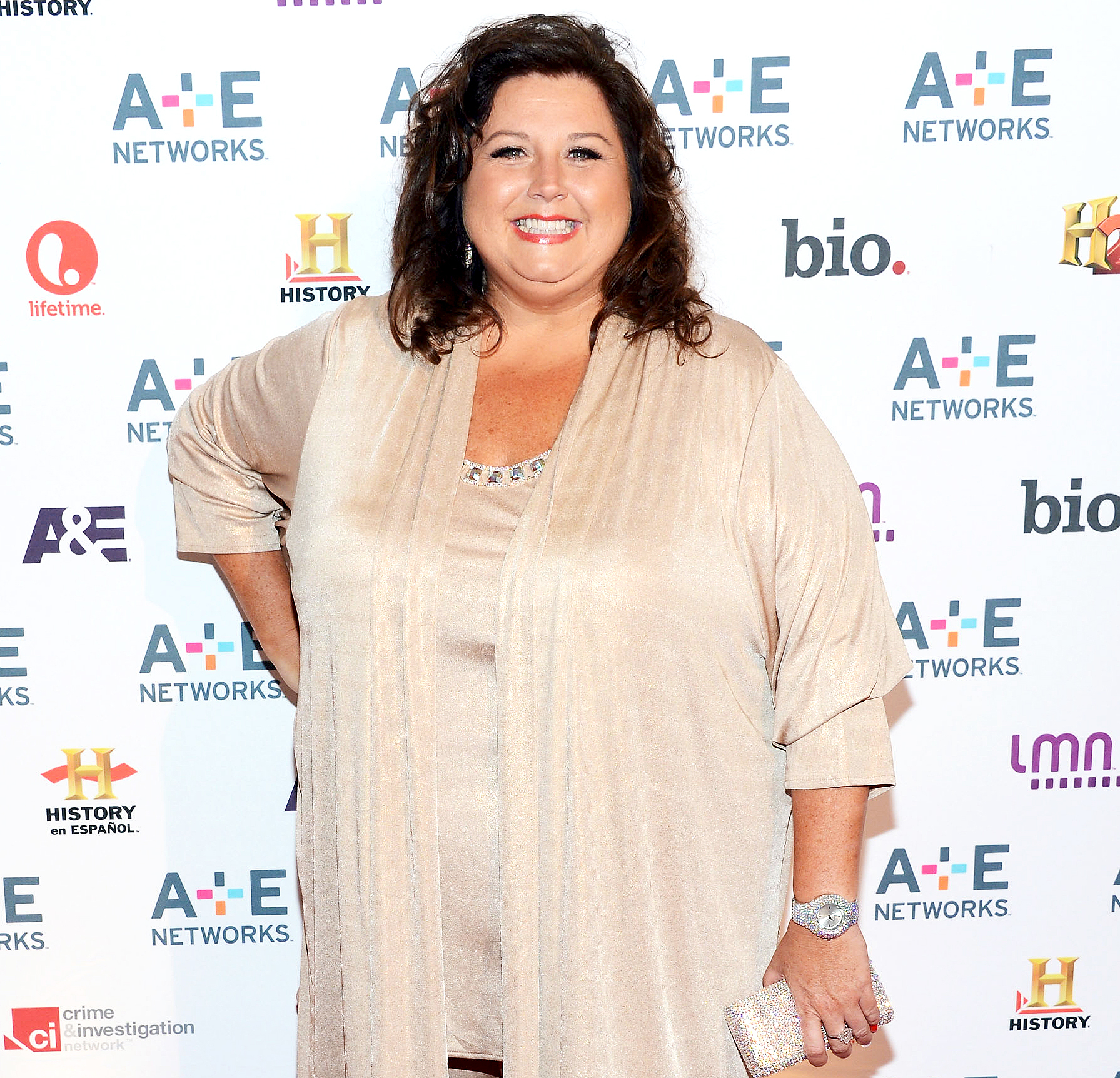 Abby Lee Miller attends A&E Networks 2012 Upfront at Lincoln Center on May 9, 2012 in New York City.