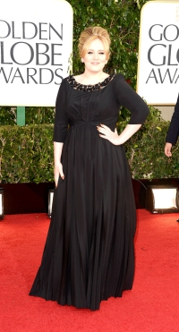 Adele Golden Globes 2013