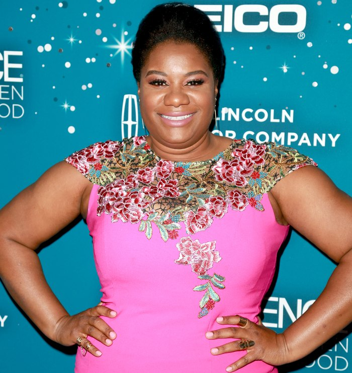 Adrienne C. Moore at Essence Black Women in Hollywood Awards at the Beverly Wilshire Four Seasons Hotel on February 23, 2017 in Beverly Hills, California.
