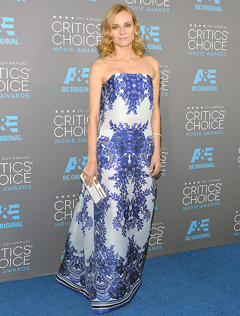 Diane Kruger - Critics Choice Awards