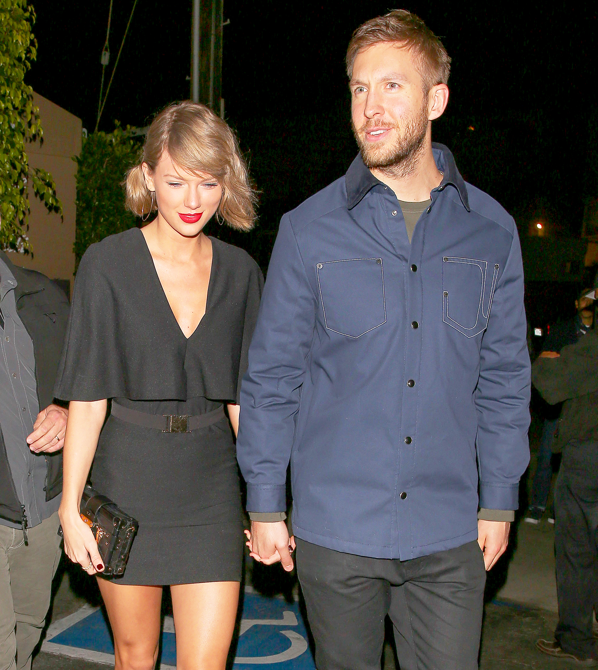 taylor swift calvin harris dating timeline