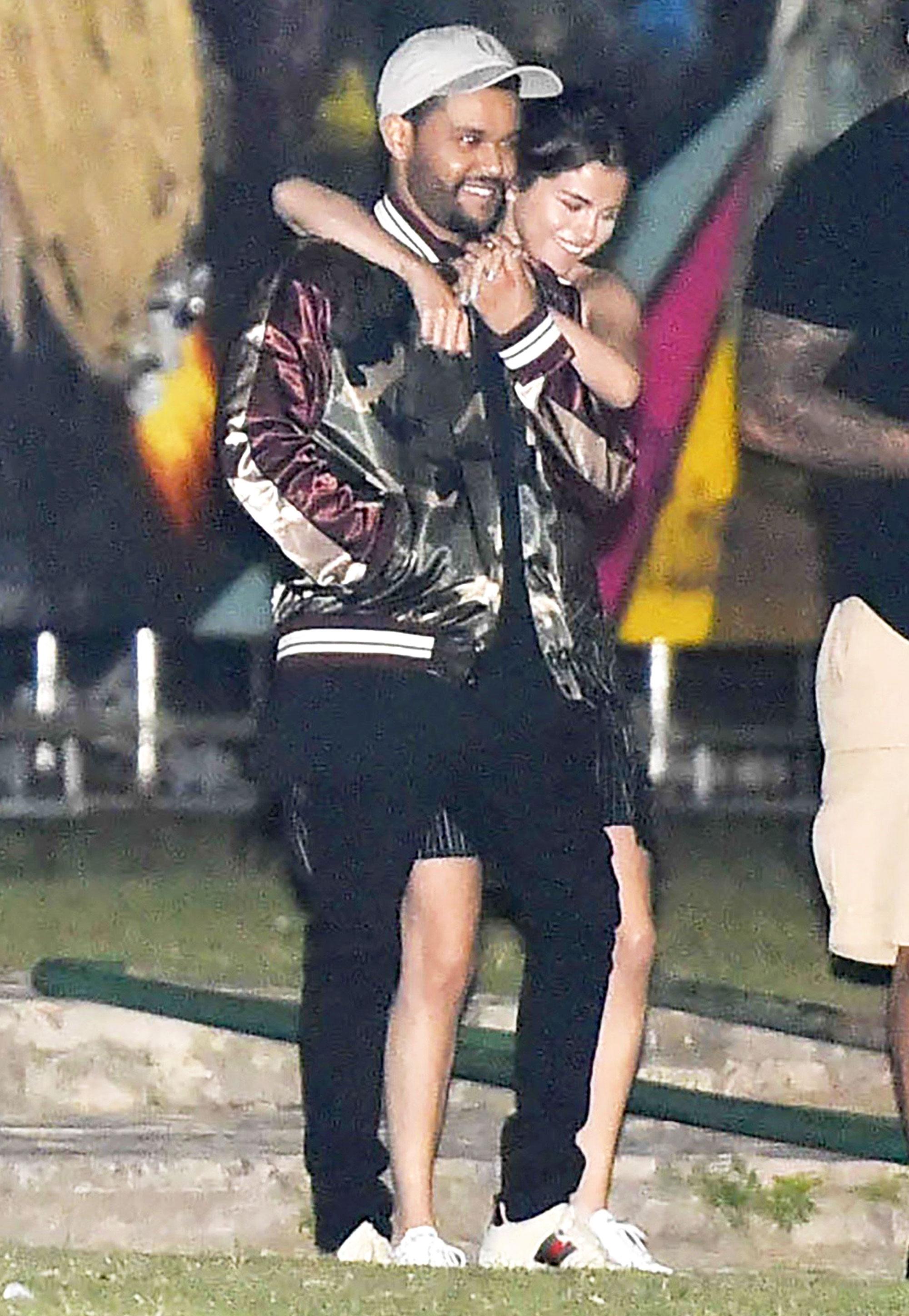 Selena Gomez and The Weeknd