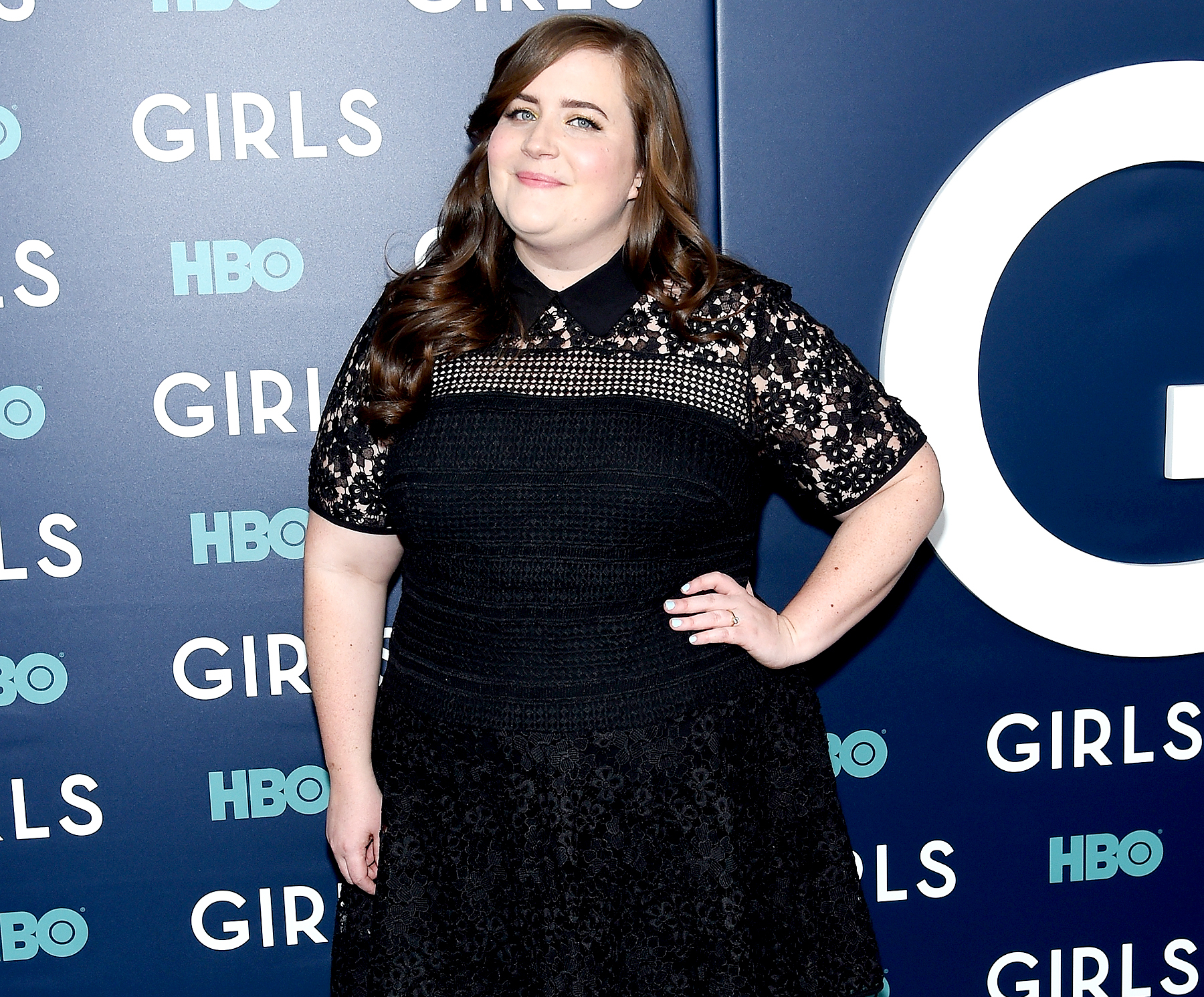 "Aidy Bryant attends The New York Premiere Of The Sixth & Final Season Of ""Girls"" at Alice Tully Hall, Lincoln Center on February 2, 2017 in New York City."