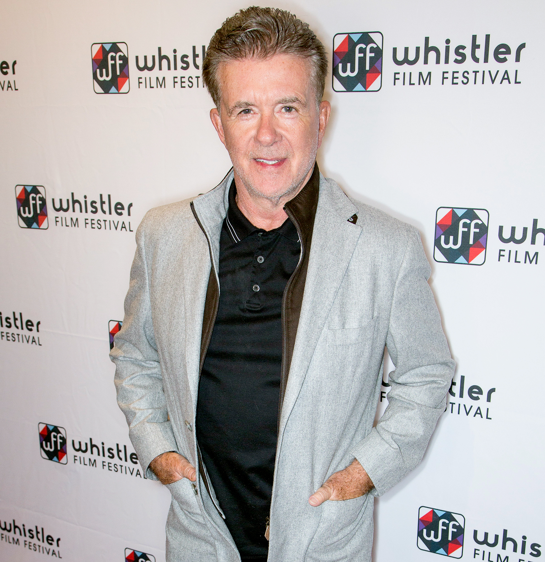 """Alan Thicke attends the Whistler Film Festival """"Signature Series: Tribute to Alan Thicke"""" during the 2016 Whistler Film Festival on December 2, 2016 in Whistler, Canada. He received WFF's Canadian Icon Award."""
