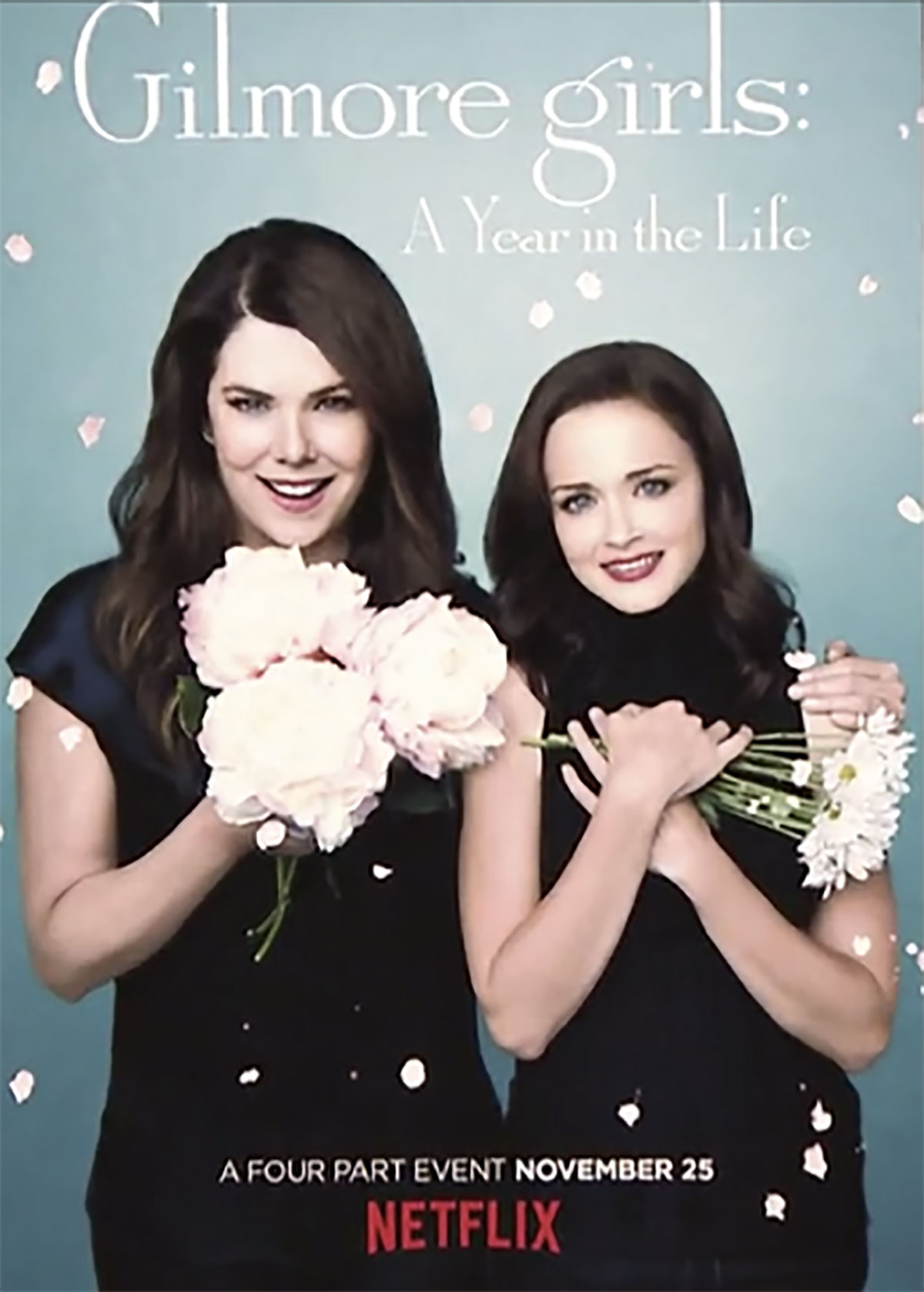 Alexis Bledel has been ridiculed for her promotional pics of the 'Gilmore Girls: A Year in the Life'