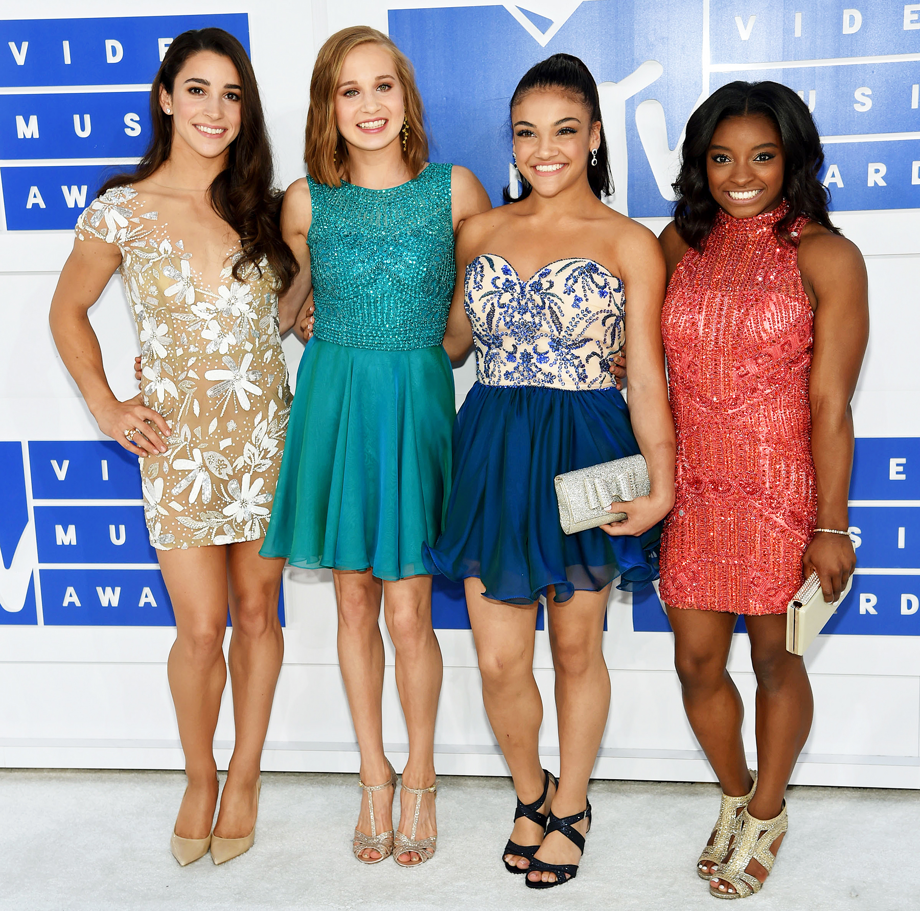 Final Five Aly Raisman Madison Kocian Laurie Hernandez Simone Biles