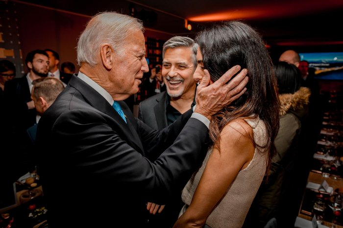 Amal Clooney Joe Biden