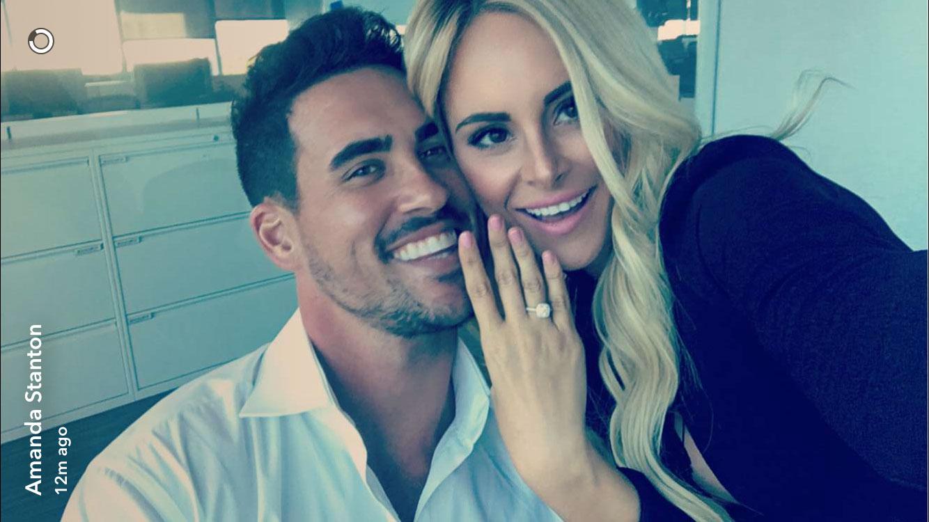 Celebrity 3 stone engagement rings