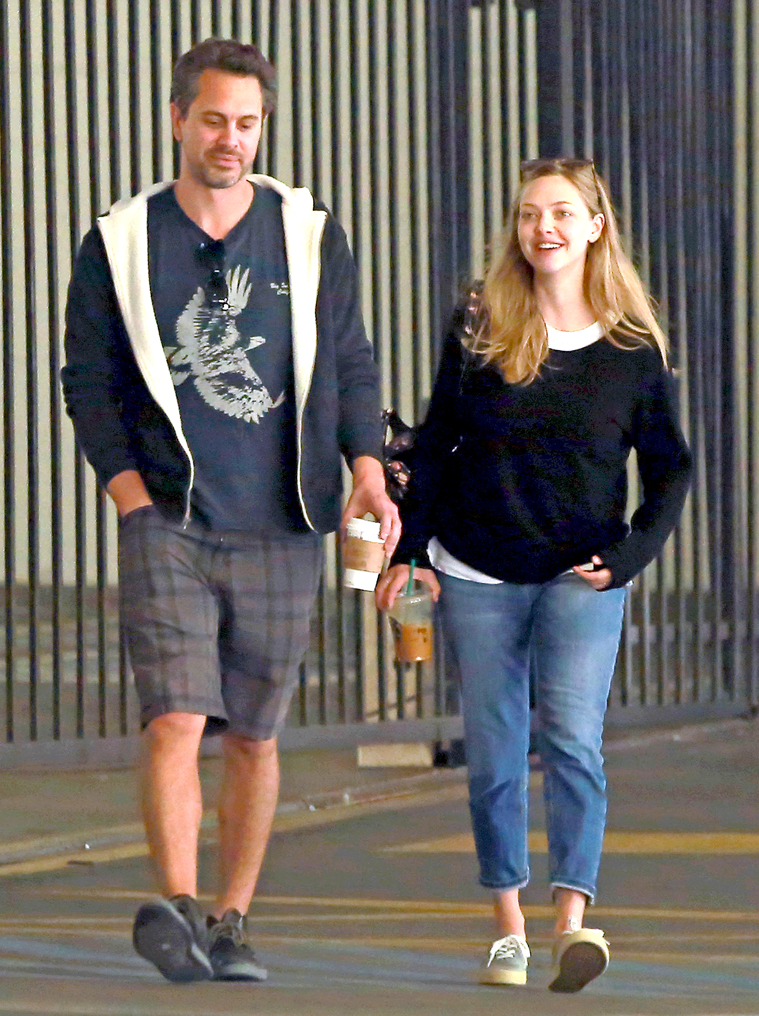 Amanda Seyfried Spotted First Time Since Welcoming Baby ...