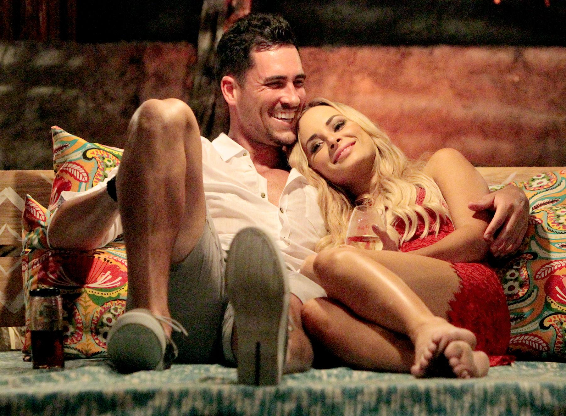 Josh Murray and Amanda Stanton on Bachelor In Paradise