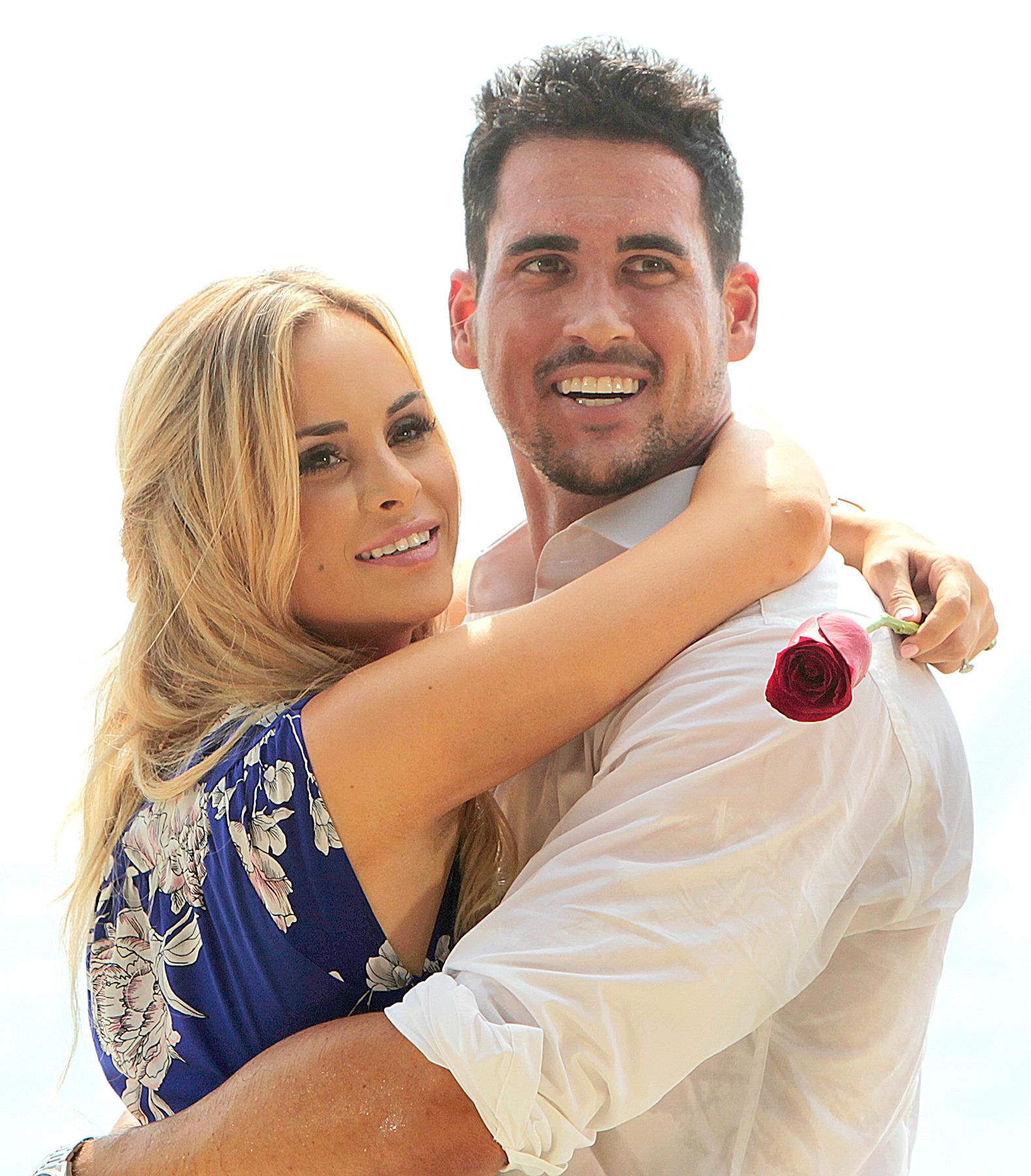 Amanda Stanton and Josh Murray on Bachelor In Paradise.