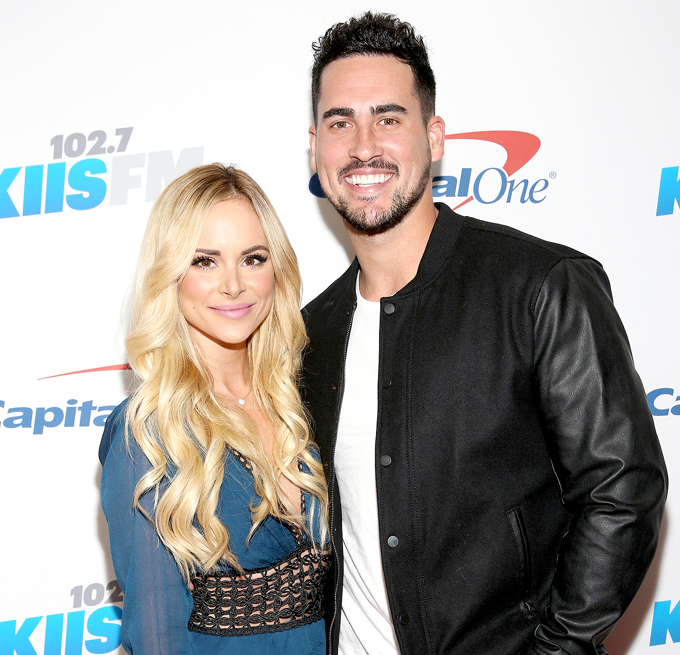Amanda Stanton and Josh Murray attend 102.7 KIIS FM's Jingle Ball 2016 presented by Capital One at Staples Center on December 2, 2016 in Los Angeles, California.