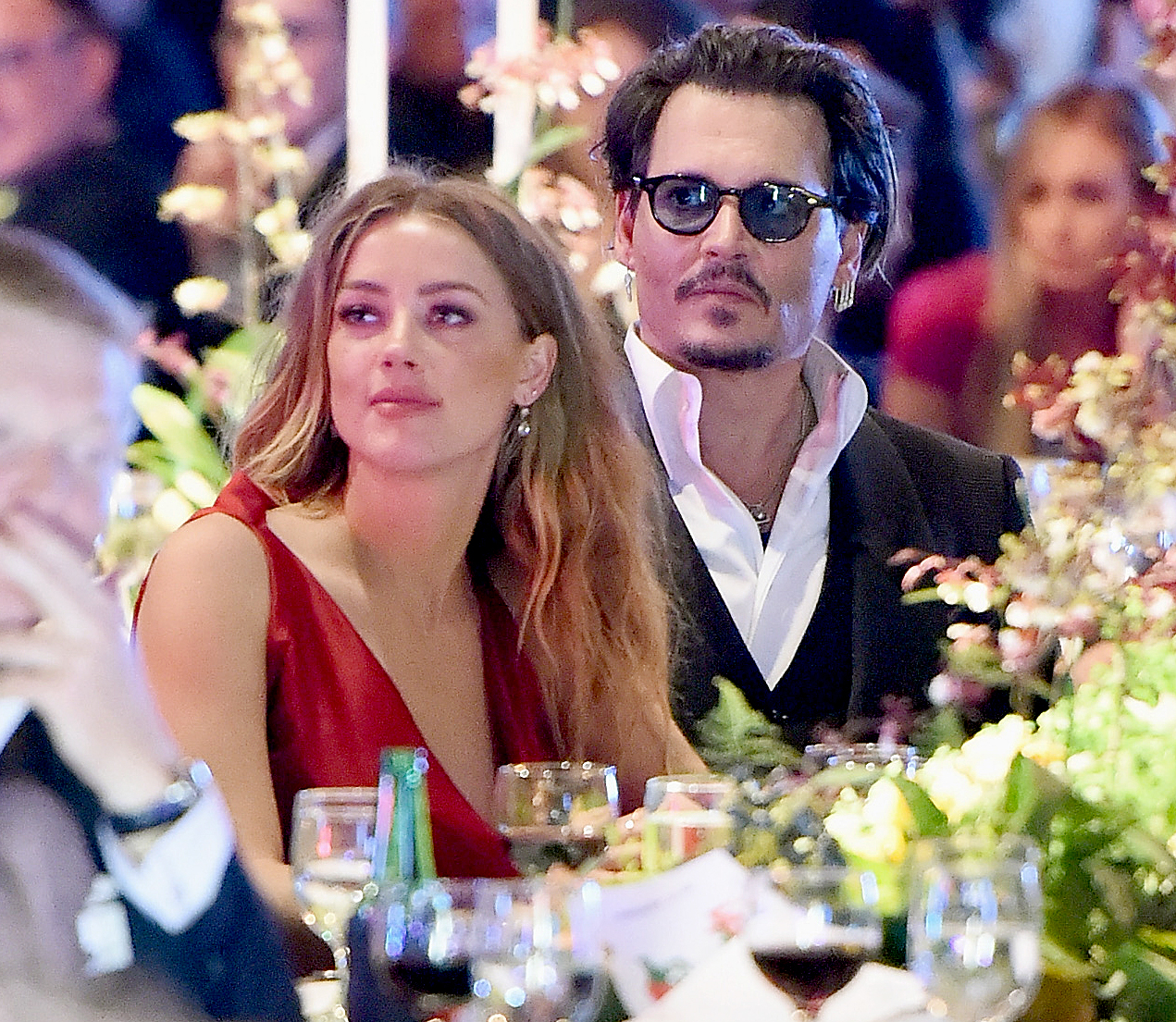 Johnny Depp and Amber Heard attended The Art of Elysium 2016 Heaven Gala in Culver City, California.