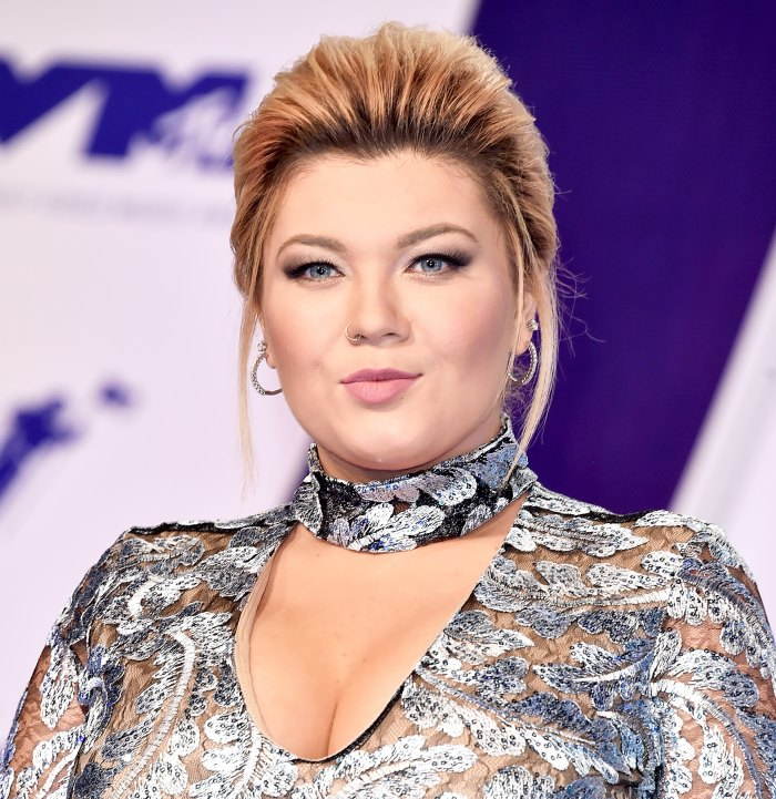 Amber Portwood attends the 2017 MTV Video Music Awards at The Forum on August 27, 2017 in Inglewood, California.