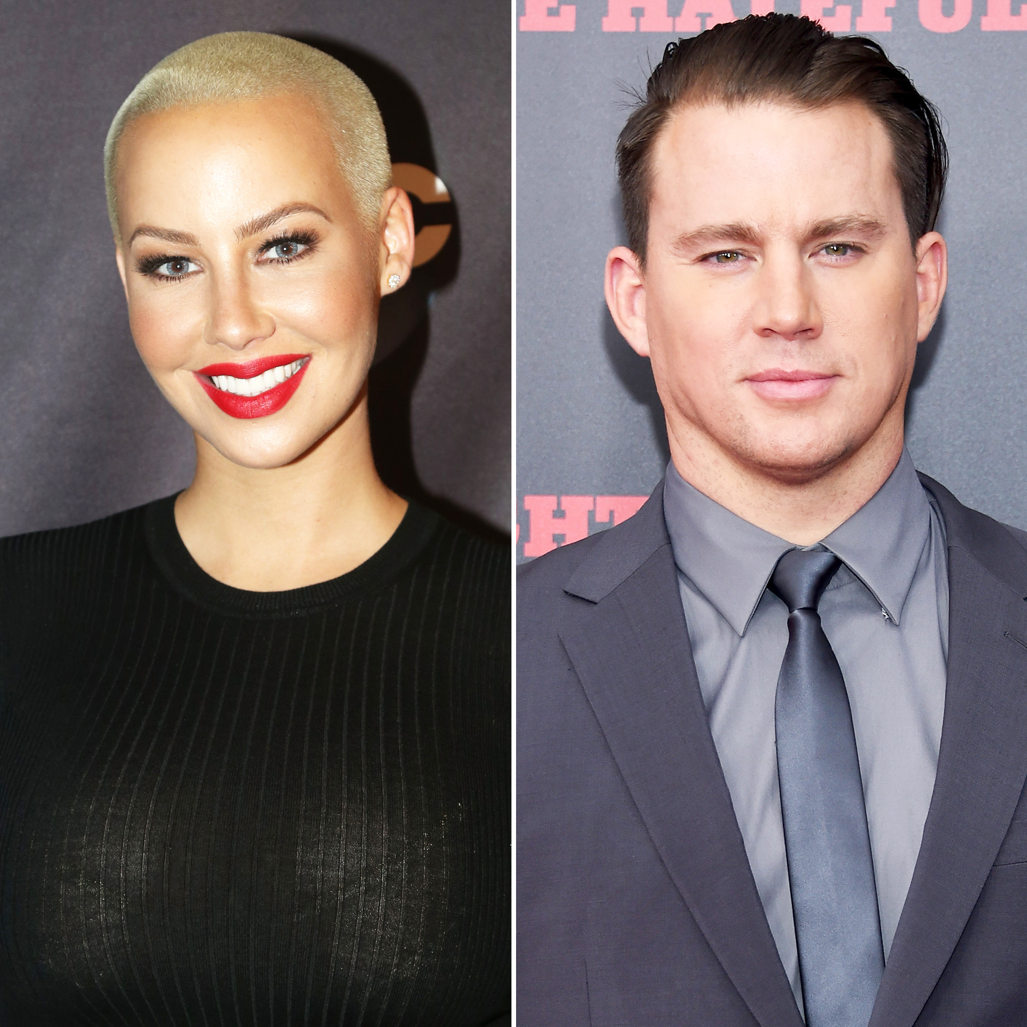 Amber Rose and Channing Tatum
