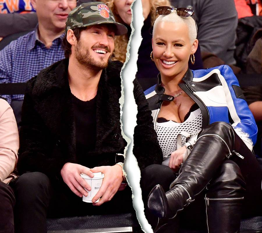 Valentin Chmerkovskiy and Amber Rose