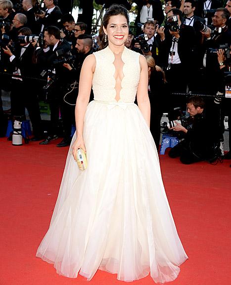 America Ferrera - Cannes Dress