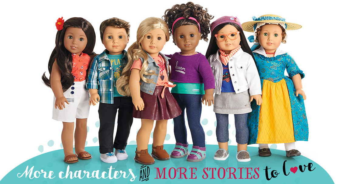 The new American Girl dolls