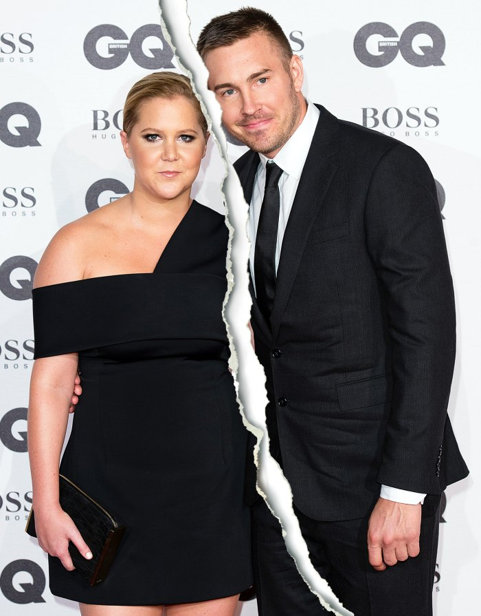 Amy Schumer and Ben Hanisch split