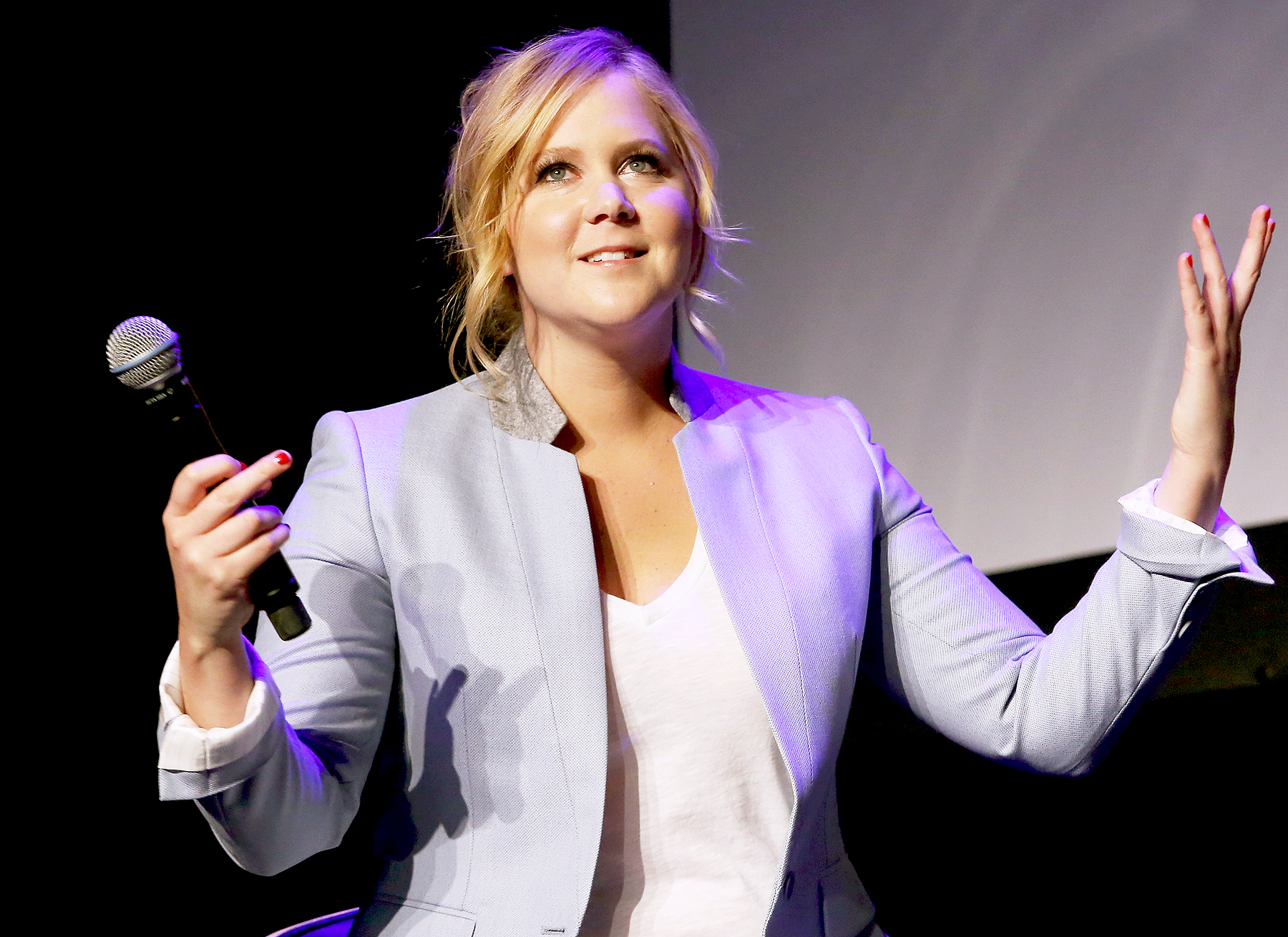 Amy Schumer speaks at Tribeca Talks: After the Movie: Inside Amy Schumer during the 2015 Tribeca Film Festival at Spring Studio on April 19, 2015 in New York City.