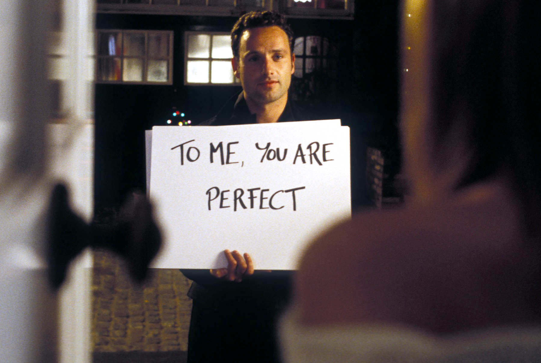 Andrew Lincoln in Love Actually, 2003.