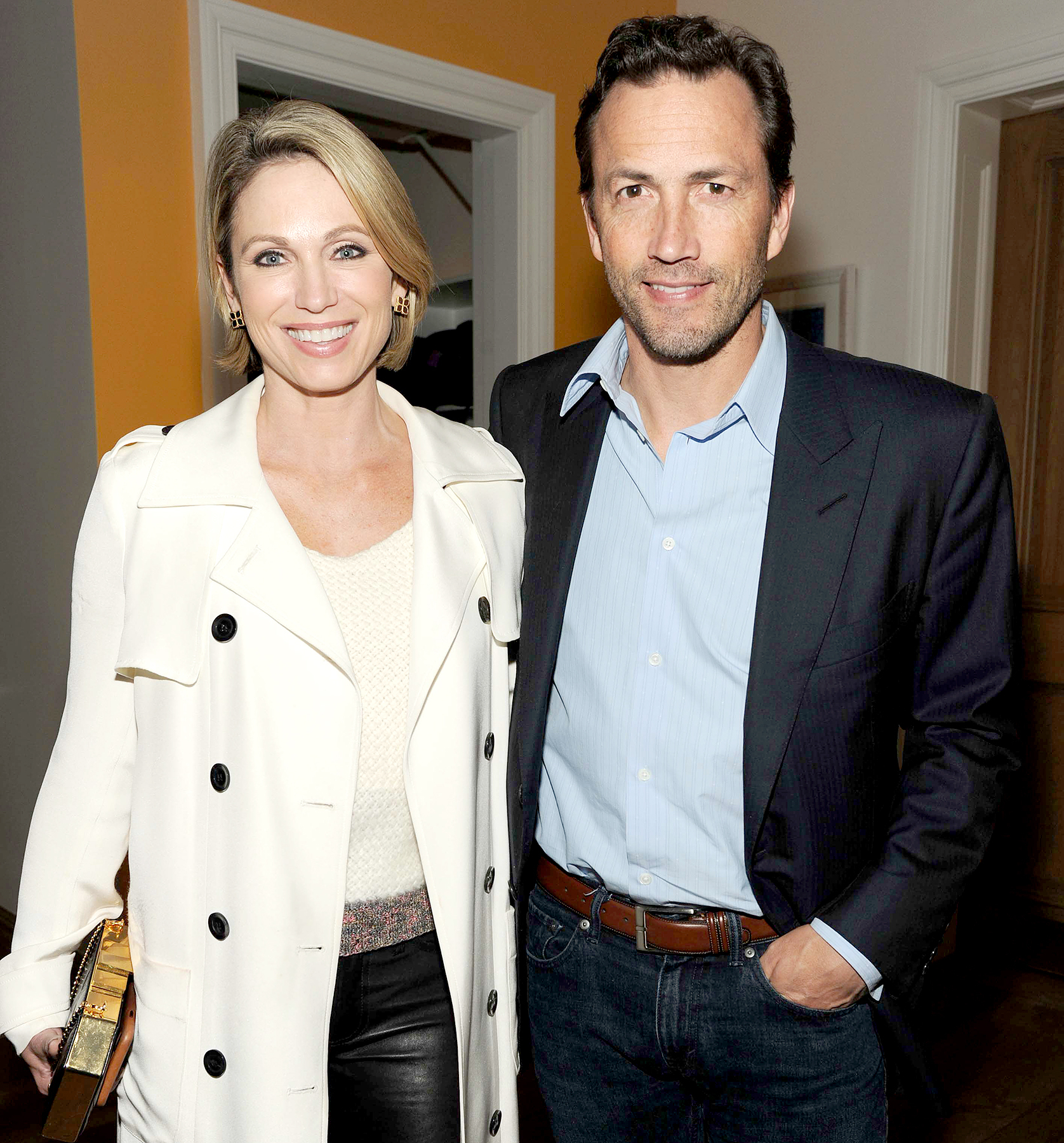 amy robach andrew shue weve been called the brady bunch