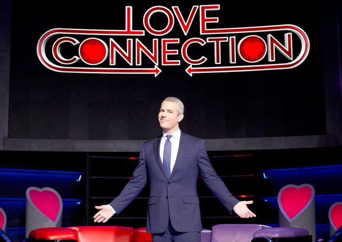 Andy Cohen on 'Love Connection.'