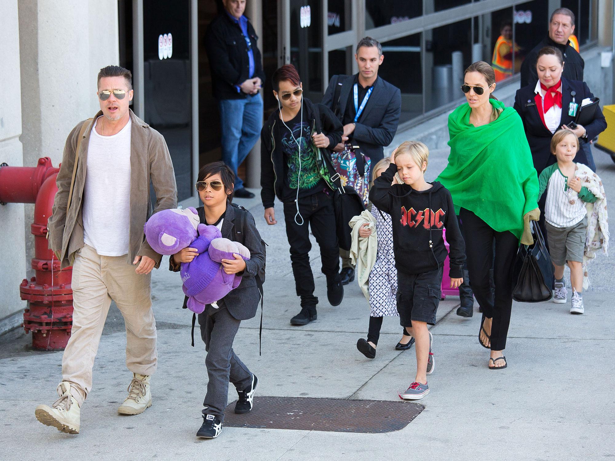 Brad Pitt Angelina Jolie Family