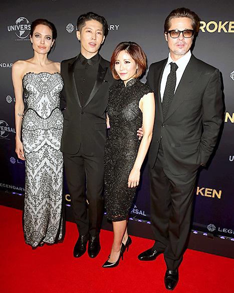 Angelina Jolie an Brad Pitt - Unbroken