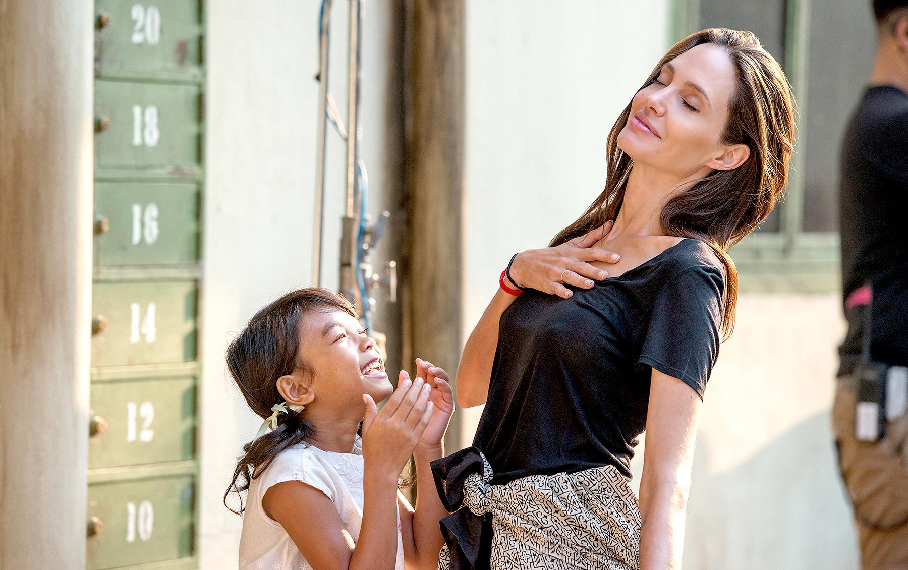 Sareum Srey Moch and Angelina Jolie