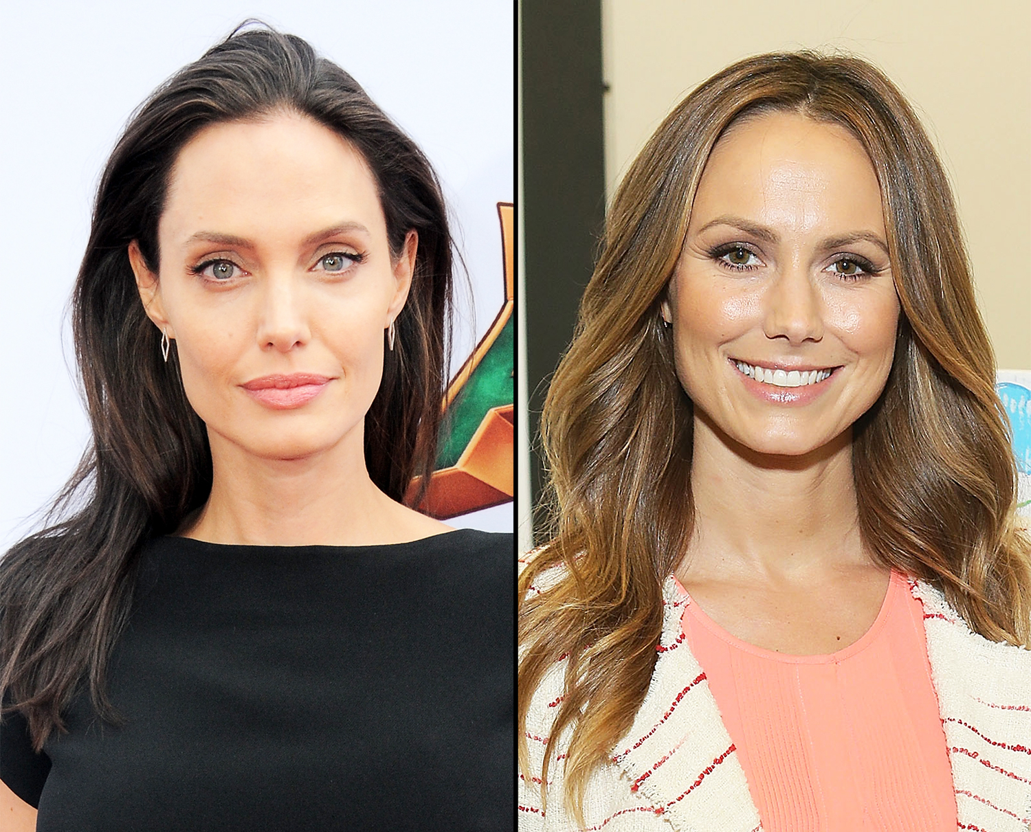 Angelina Jolie and Stacy Keibler