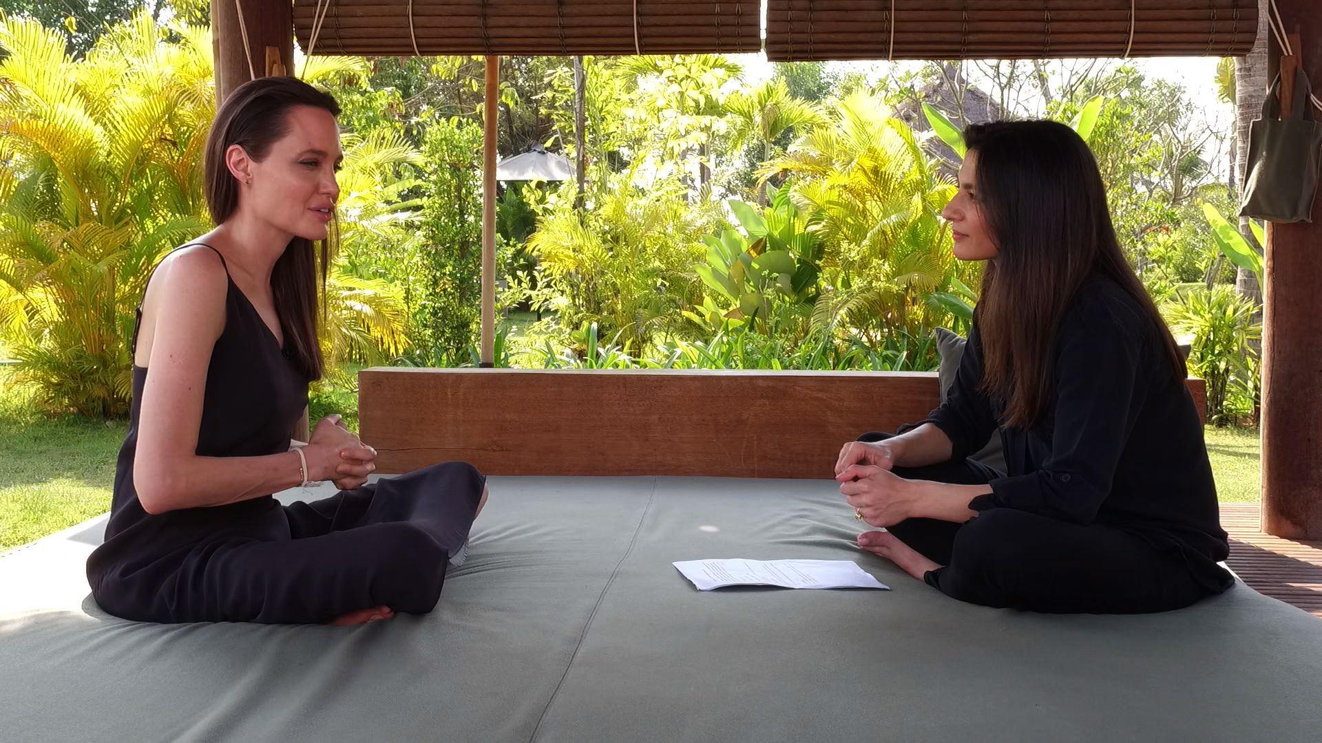 Angelina Jolie opens up about Brad Pitt divorce