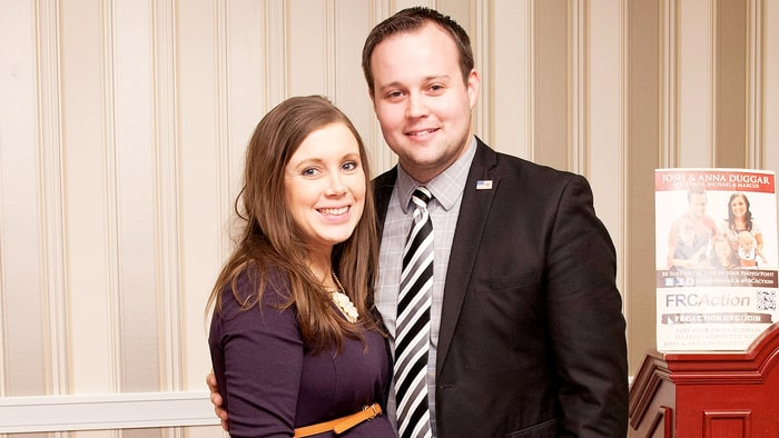 Anna Duggar and Josh Duggar pose during the 42nd annual Conservative Political Action Conference (CPAC) at the Gaylord National Resort Hotel and Convention Center on February 28, 2015 in National Harbor, Maryland.