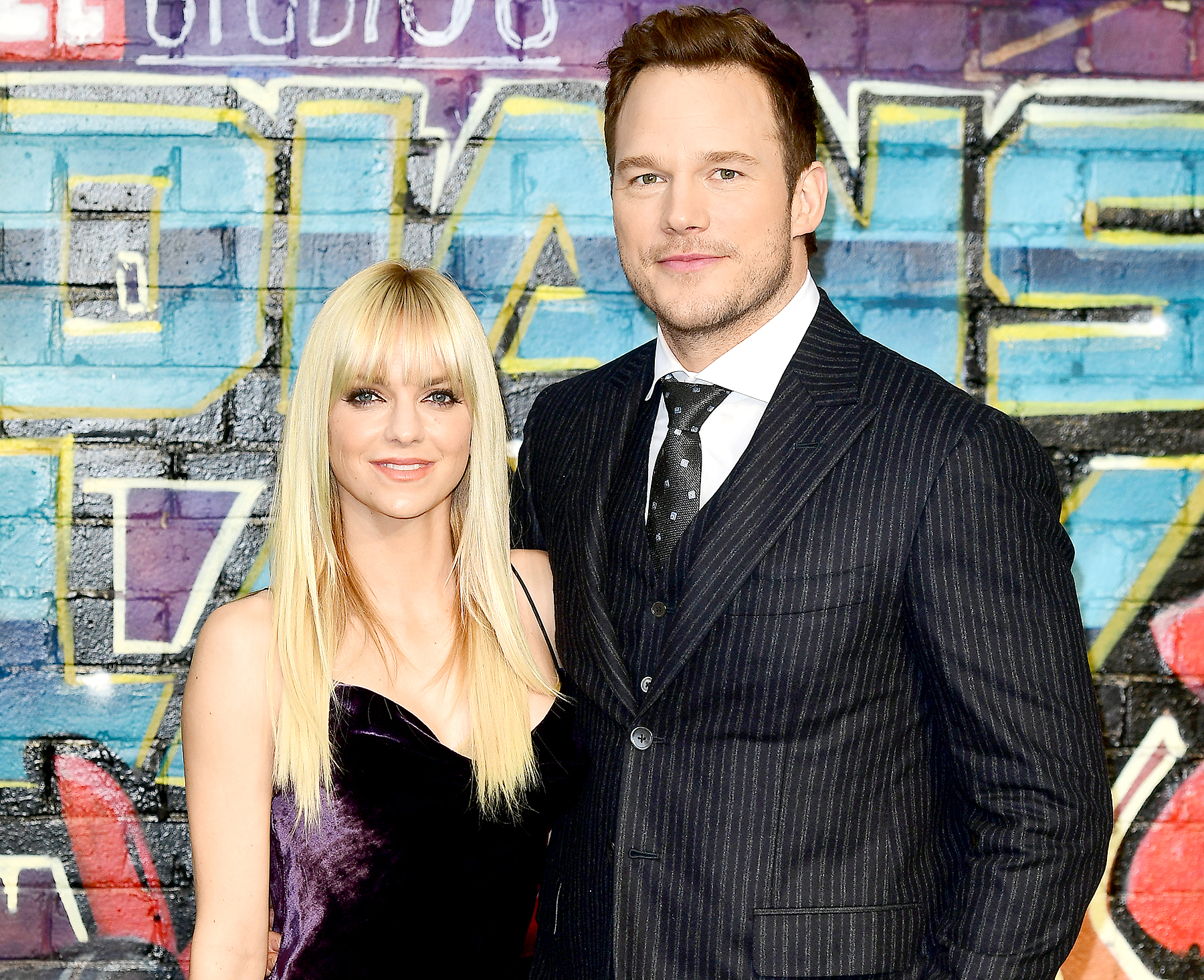 Chris Pratt and Anna Faris attended The European Premiere of Guardians of the Galaxy Vol. 2 held at the Eventim Apollo, London.