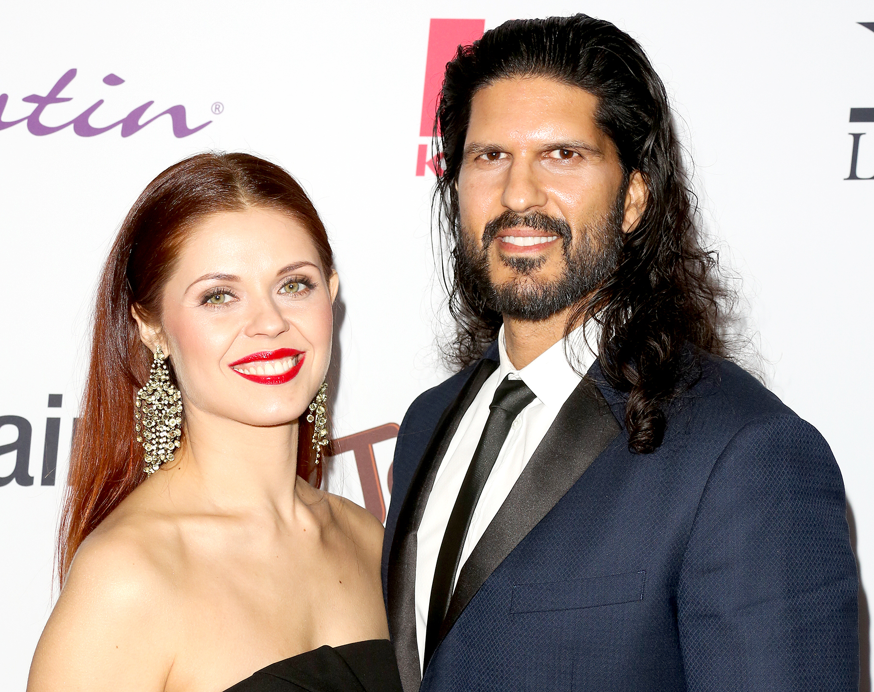 Anna Trebunskaya and Nevin Millan on February 22, 2017 in Los Angeles, California.