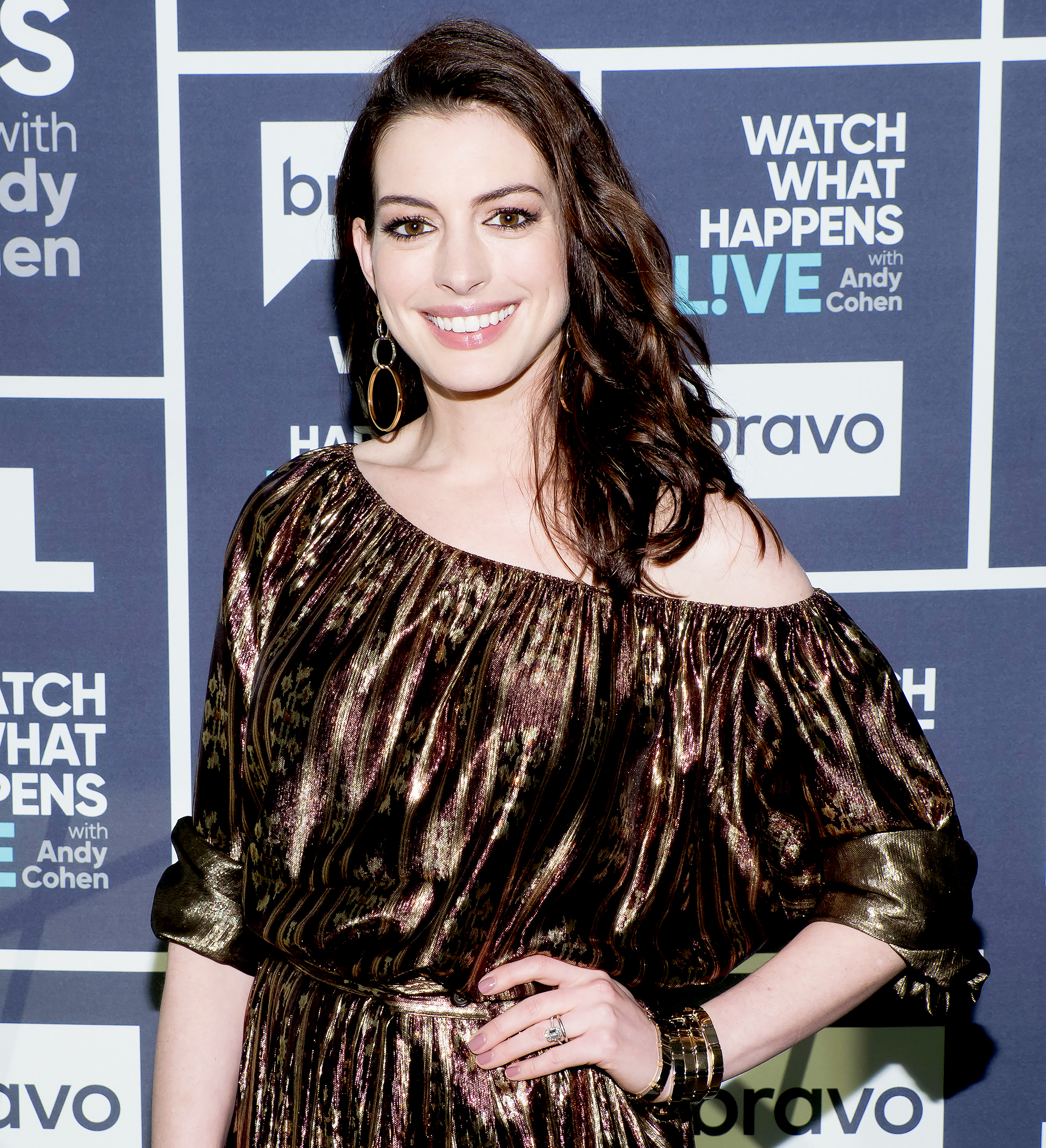 Anne Hathaway Celebrates Her 'Princess Diaries' Character