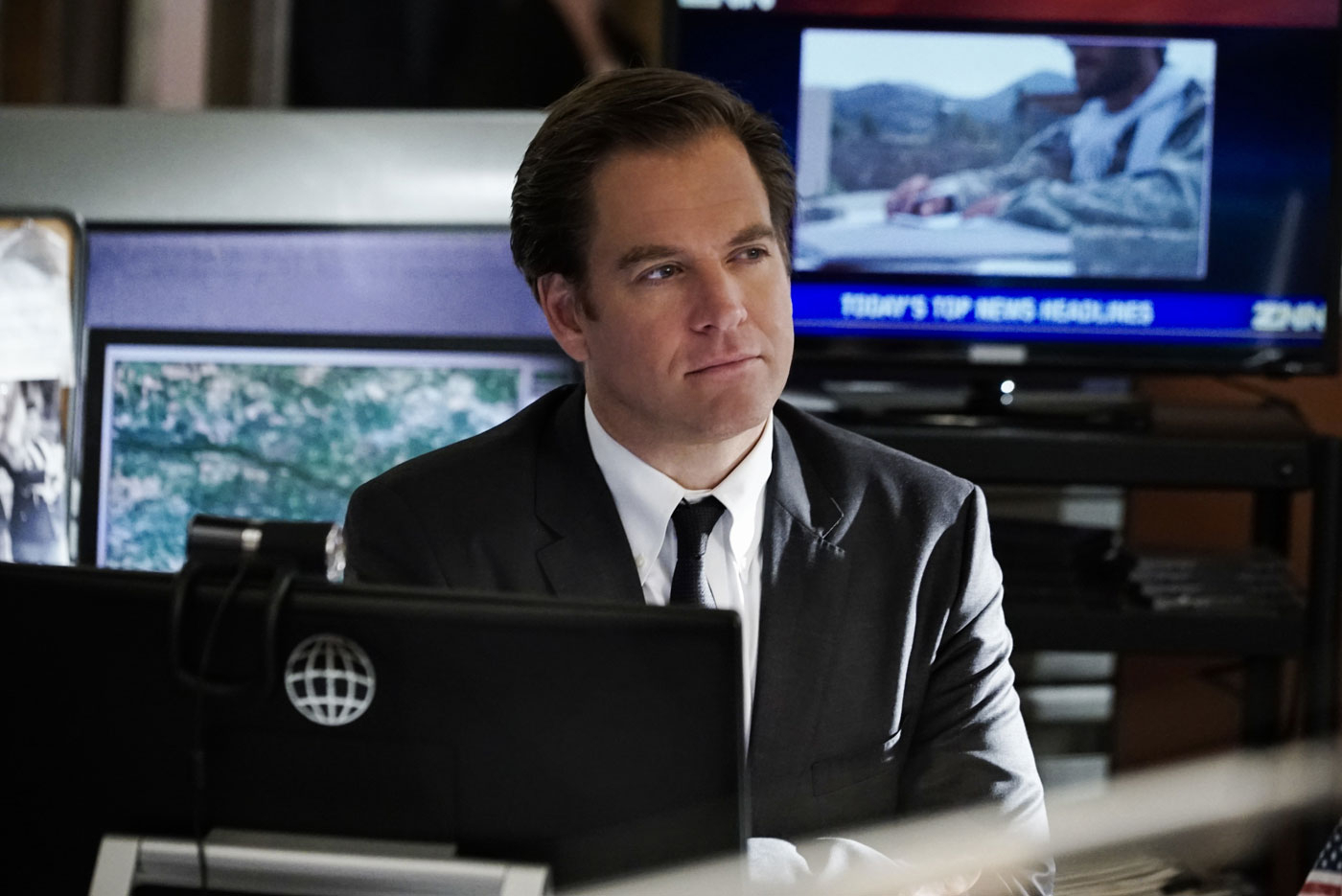 Michael Weatherly reacted to his NCIS finale episode
