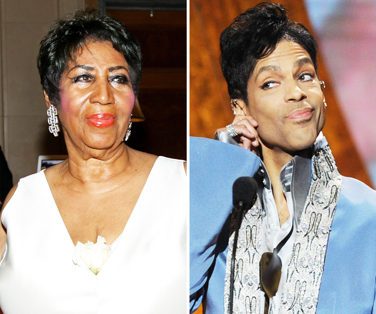 Aretha Franklin and Prince