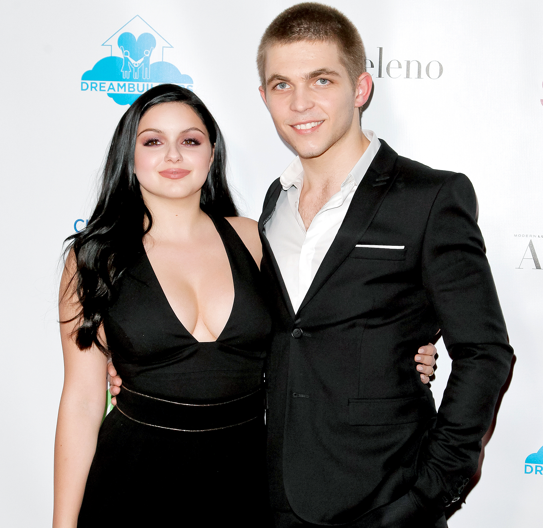 Ariel Winter and Laurent Claude Gaudette attend the Dream Builders Project 3rd Annual 'A Brighter Future For Children' Charity Gala at Taglyan Cultural Complex on March 3, 2016.