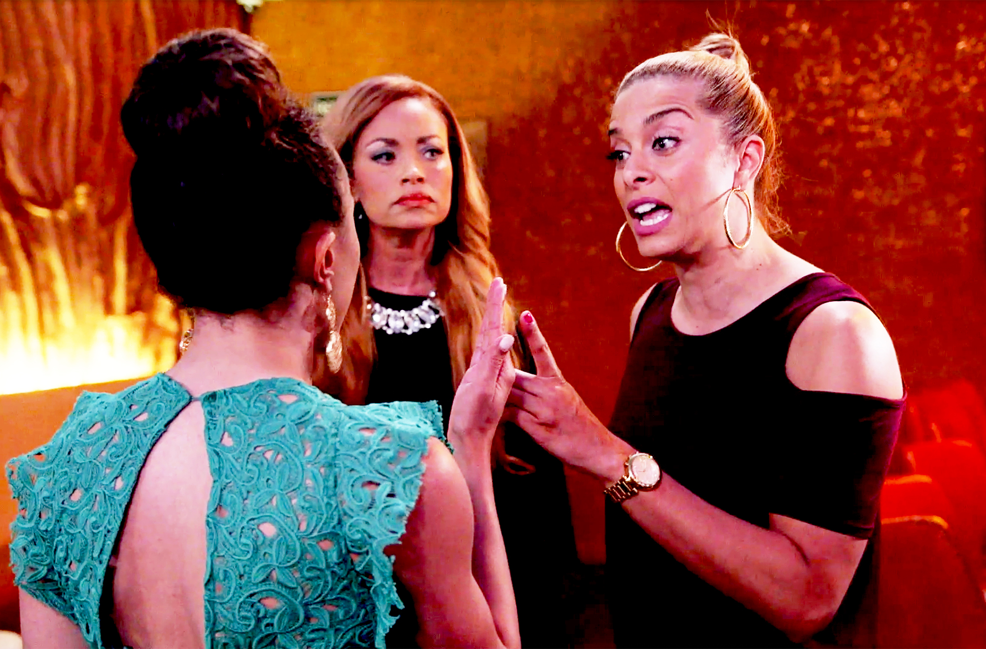 Ashley Darby, Gizelle Bryant and Robyn Dixon The Real Housewives of Potomac