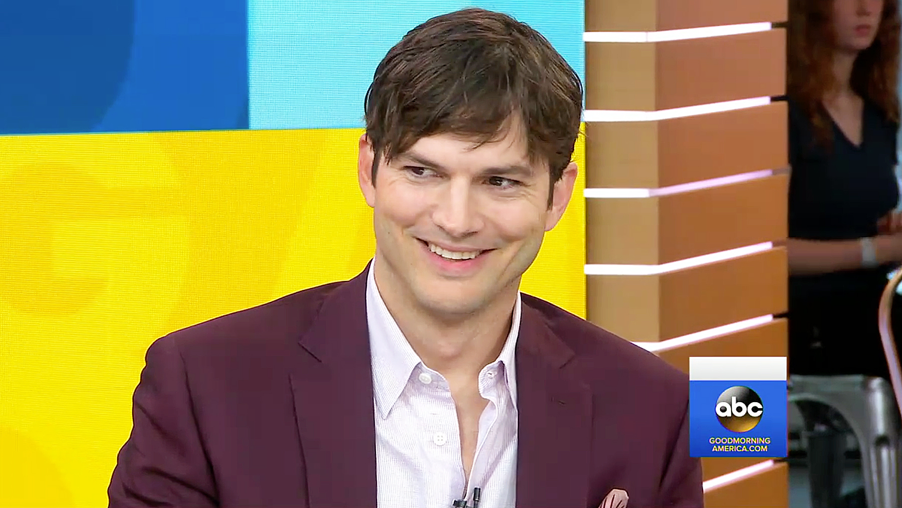 Image result for ashton kutcher happy
