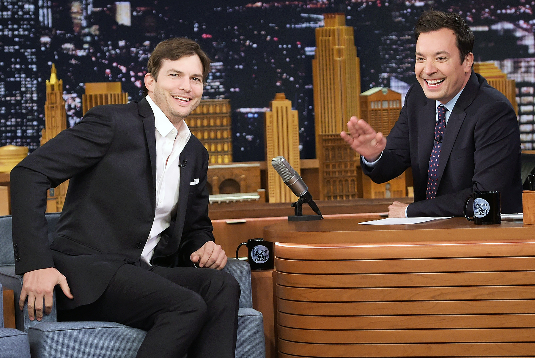 Ashton Kutcher The Tonight Show Starring Jimmy Fallon