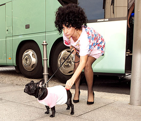 Lady Gaga and Asia
