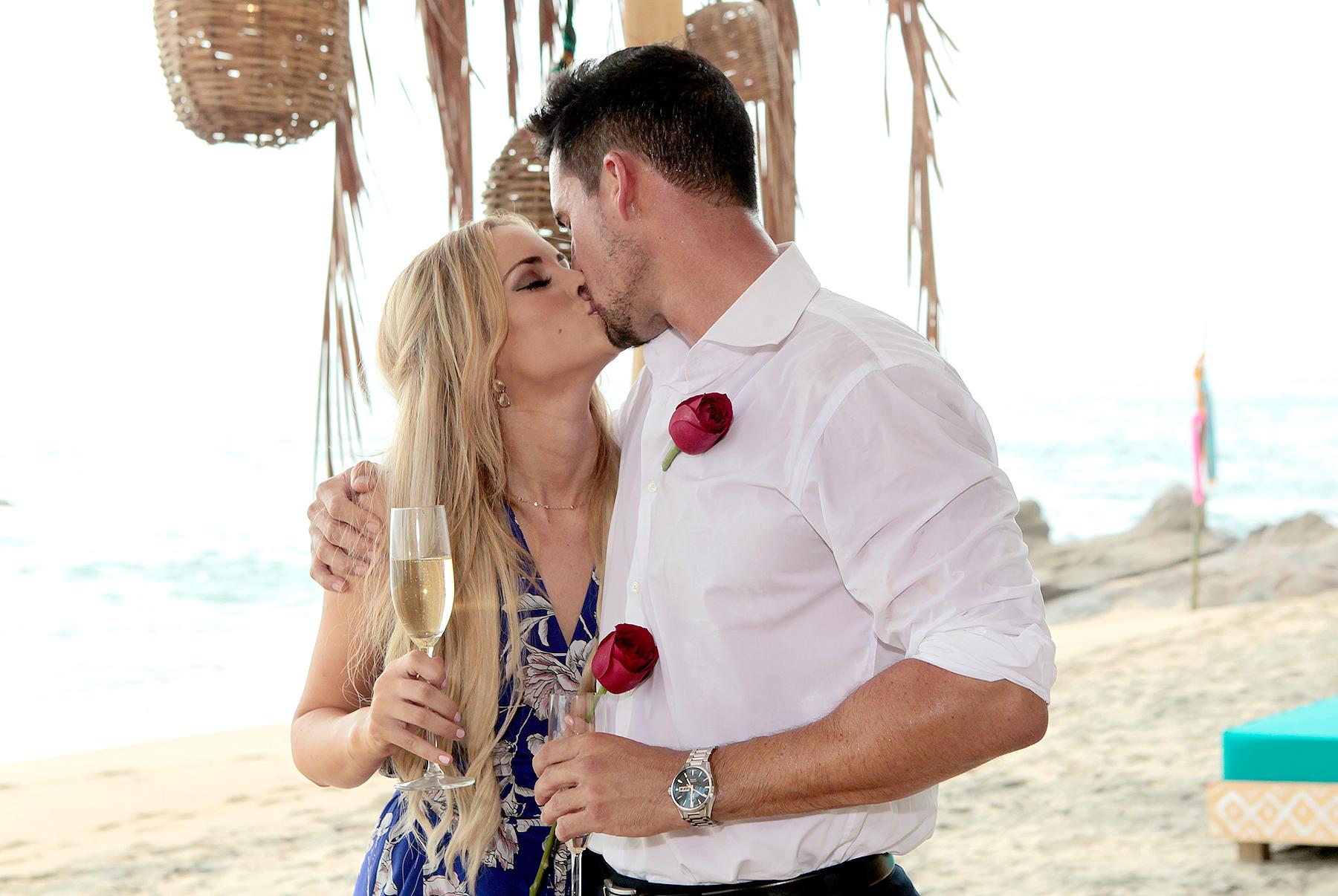 Amanda Stanon and Josh Murray on Bachelor in Paradise.