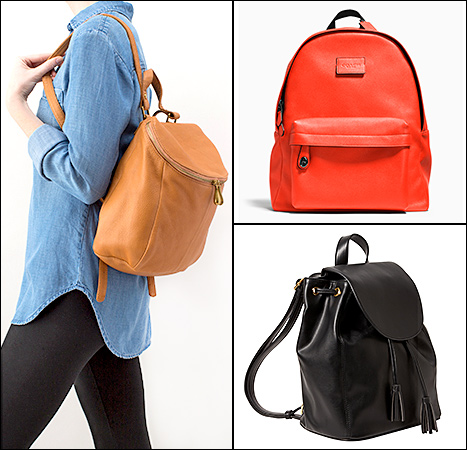 Katie Holmes - backpack get the look