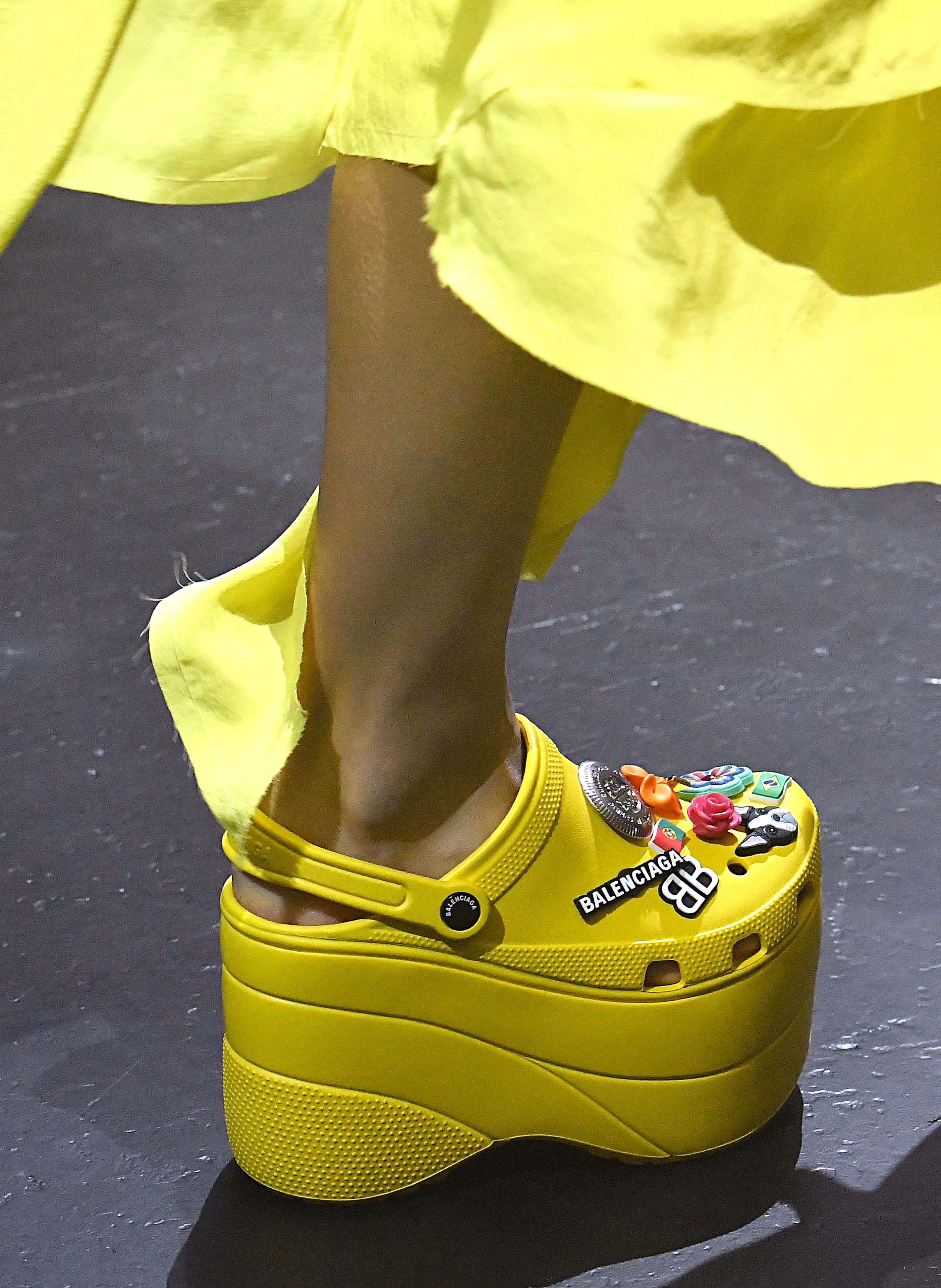 Balenciaga S Platform Crocs At Paris Fashion Week Love It
