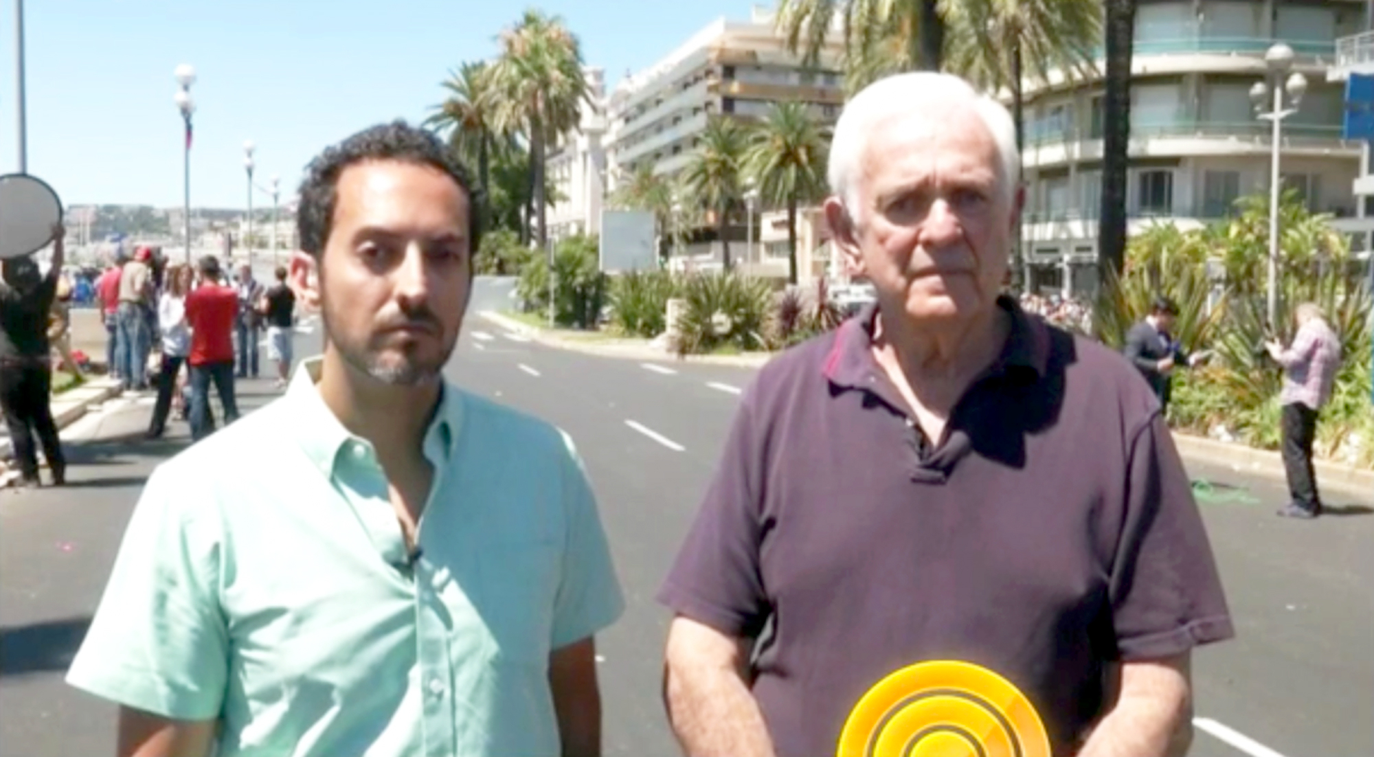Two Americans who witnessed the Thursday, July 14, terror attack in Nice