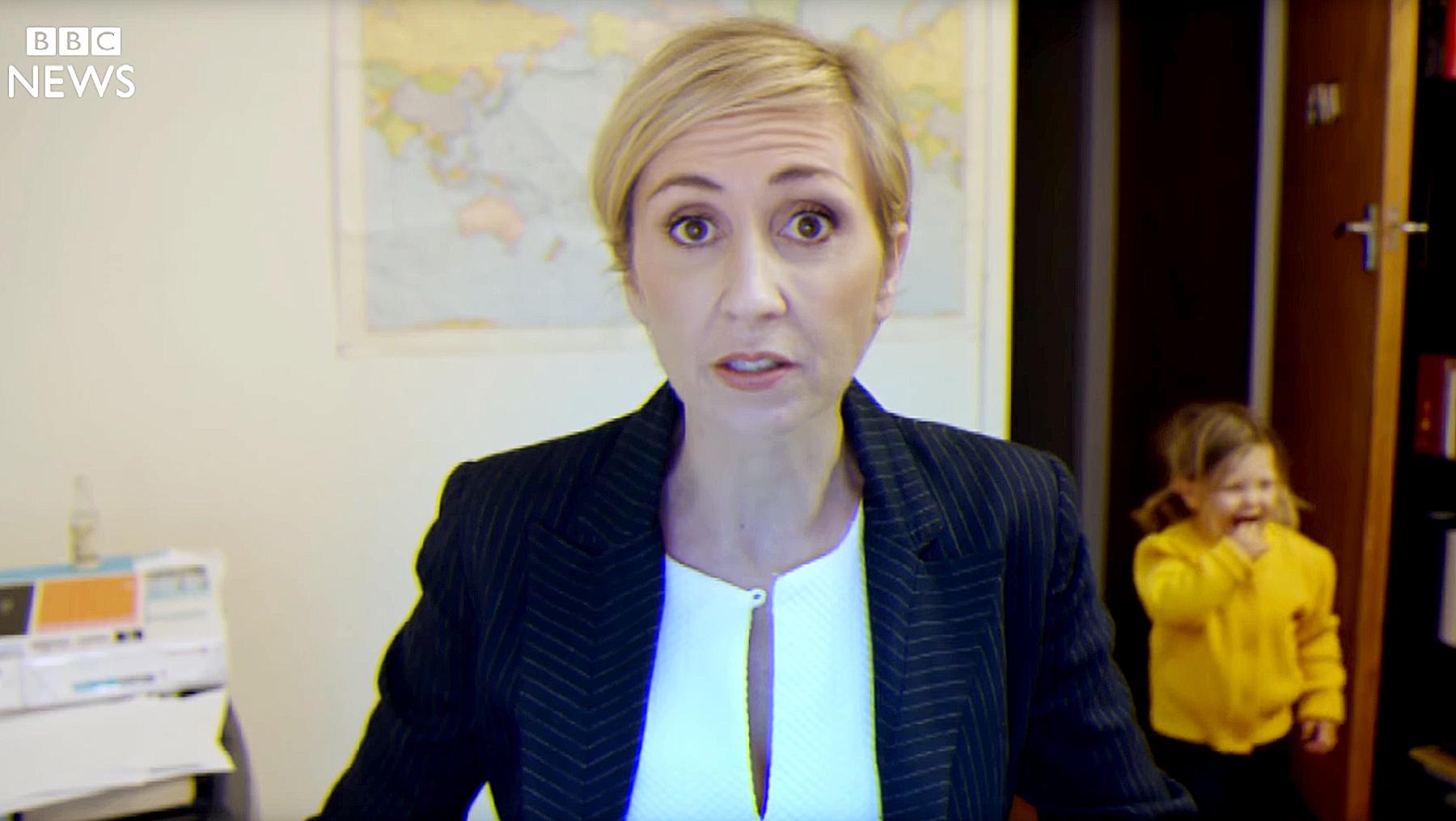 'BBC Mom' parody